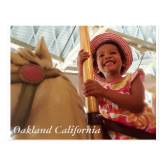 Happy Girl Postcard