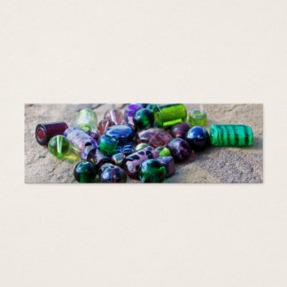 Happy Glass Beads Mini Business Card