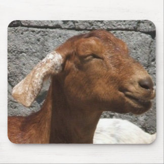 Happy Goat Mouse Pad