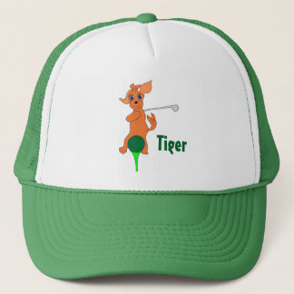 Happy Golfing by The Happy Juul Company Trucker Hat