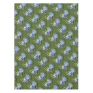 Happy Grandparents Day - Forgetmenot Tablecloth