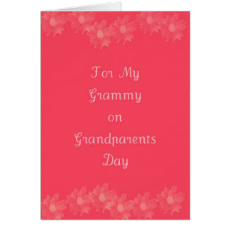 Happy Grandparents Day Grammy Card