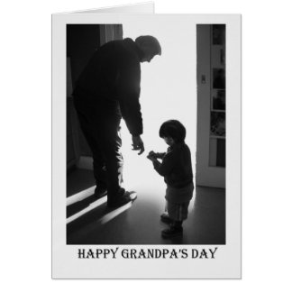 Happy Grandpa's Day Card