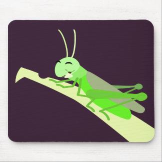 Happy Grasshopper Mousepad
