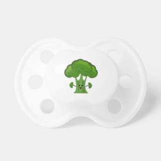 Happy Green Broccoli Pacifier
