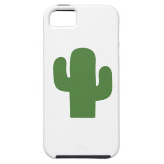 Happy green cactus in pink summer iPhone 5 cases