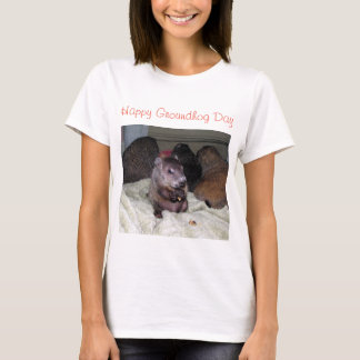 Happy Groundhog Day T-Shirt