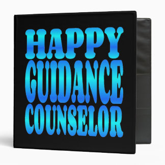 Happy Guidance Counselor Vinyl Binder