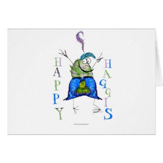 happy haggis card