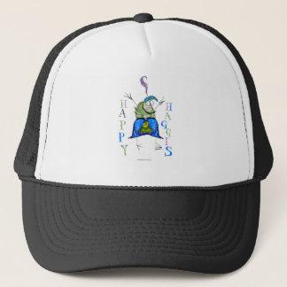 happy haggis trucker hat