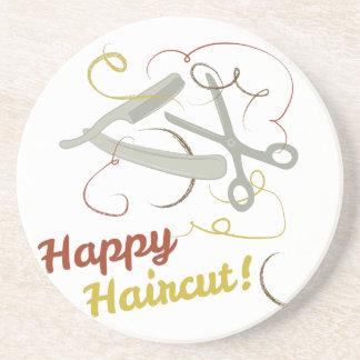 Happy Haircut Drink Coasters