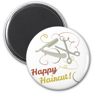 Happy Haircut Magnet
