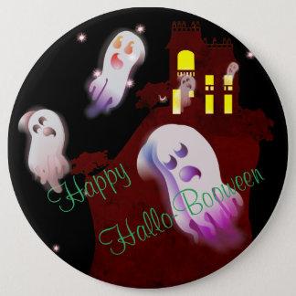 Happy Hallo- Booween 6 Inch Round Button