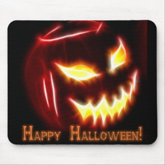 Happy Halloween 1 with text Mouse Pad