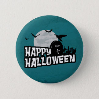 Happy Halloween 2 Inch Round Button