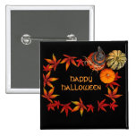 Happy Halloween 2 Inch Square Button