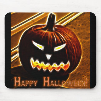 Happy Halloween 2 with text Mouse Pad
