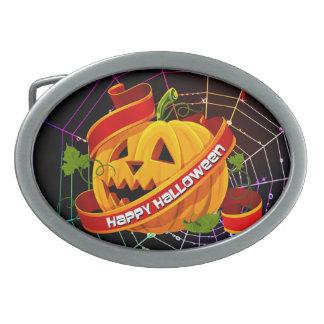 Happy Halloween 6 Belt Buckle