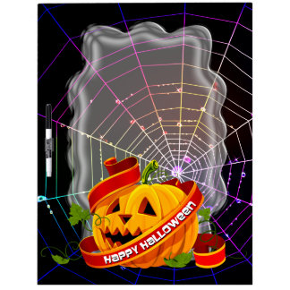 Happy Halloween 6 Dry-Erase Board