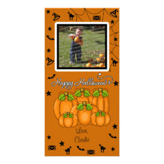 Happy Halloween (Add Your Photo and Text) Card