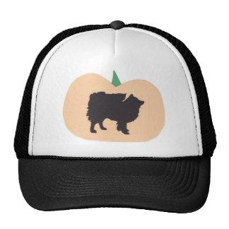 Happy Halloween American Eskimo Mesh Hat