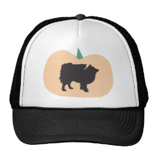 Happy Halloween American Eskimo Trucker Hat