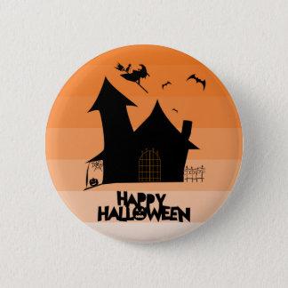 """""""Happy Halloween"""" Badge 2 Inch Round Button"""