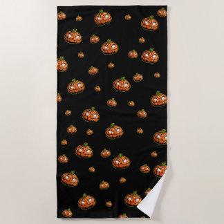 Happy Halloween Beach Towel