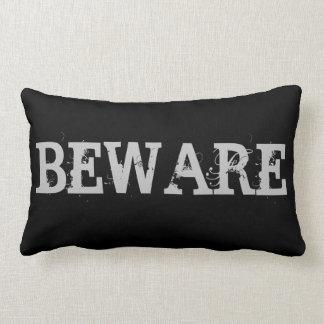 Happy Halloween Beware Lumbar Pillow
