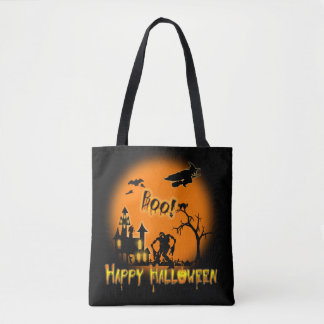 Happy Halloween -Boo Trick or Treat Party Tote Bag