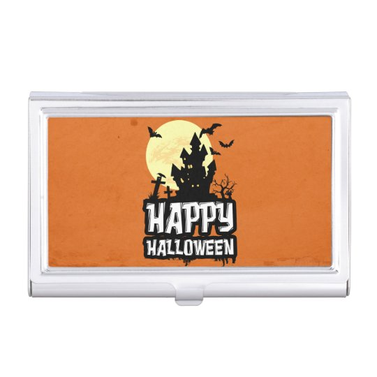 Happy Halloween Business Card Cases
