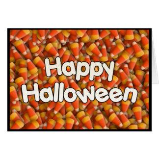 Happy Halloween Candy Corn Card
