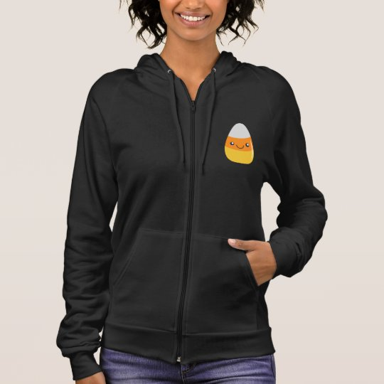 Happy Halloween Candy Corn Emoji Hoodie