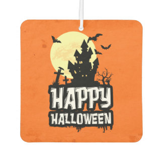 Happy Halloween Car Air Freshener
