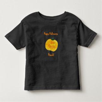 Happy Halloween Cartoon Pumpkin T-Shirt