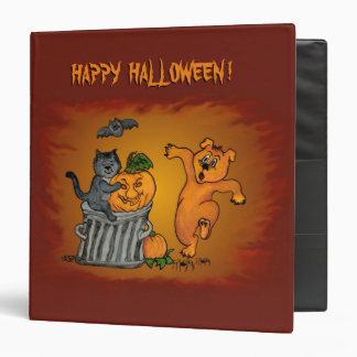 Happy Halloween! Cat Bat Dog and Spider Binders