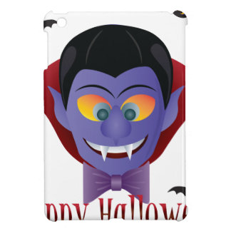 Happy Halloween Count Dracula Illustration iPad Mini Cover