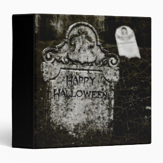 "Happy Halloween Creepy Cemetery 1.5"" Photo Album Binder"