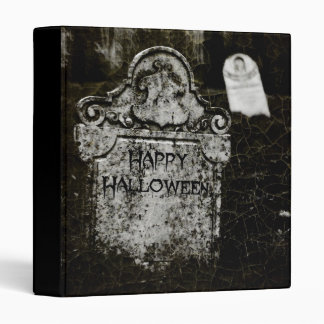 """Happy Halloween Creepy Cemetery 1"""" Photo Album 3 Ring Binders"""
