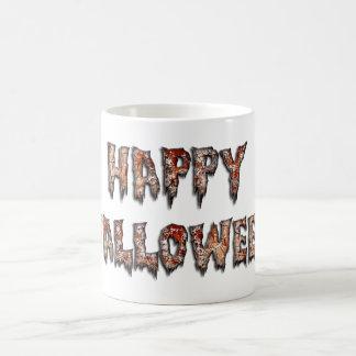 Happy Halloween Creepy Novelty Coffee Mug