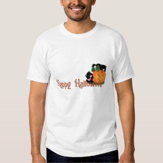Happy Halloween - Cute Kittens w/Pumpkin T-shirts
