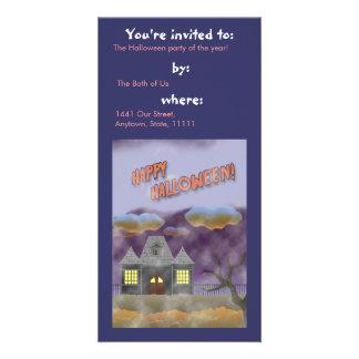 Happy Halloween- design 1 Photo Card Template