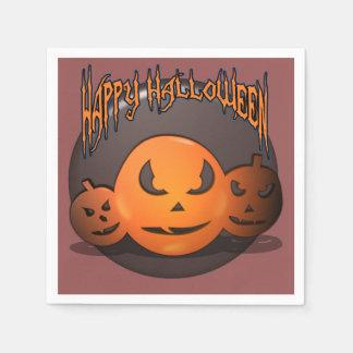 Happy Halloween Disposable Napkin