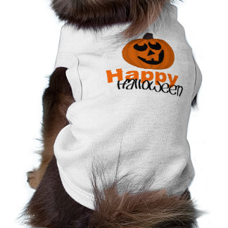 Happy Halloween Doggie Ribbed Tank Top