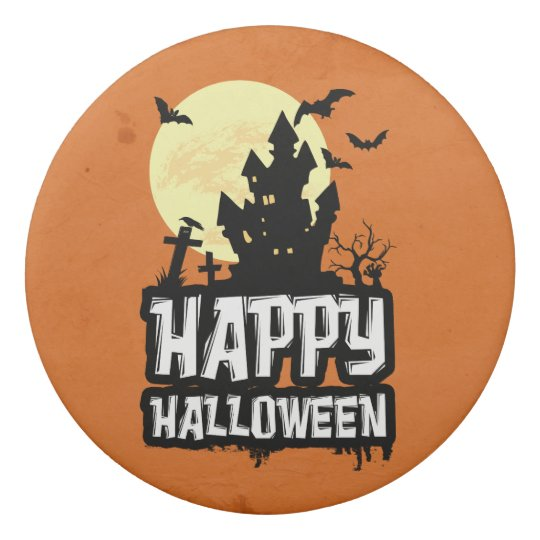 Happy Halloween Eraser