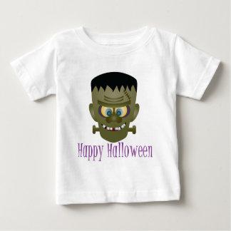 Happy Halloween Frankenstein Monster Illustration Baby T-Shirt
