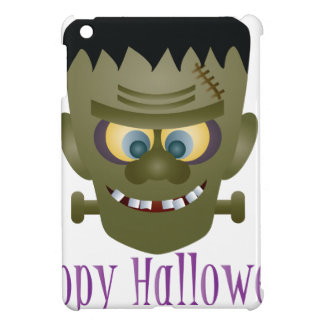 Happy Halloween Frankenstein Monster Illustration iPad Mini Cover