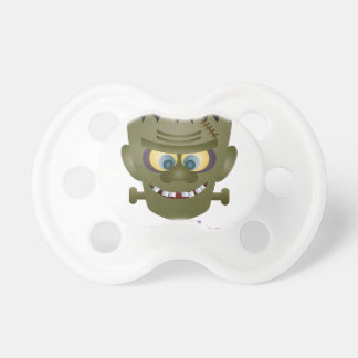 Happy Halloween Frankenstein Monster Illustration Pacifier