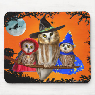 HAPPY HALLOWEEN FROM OWL OF US! MOUSE PAD