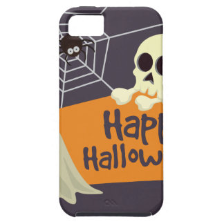 Happy Halloween Ghosts and Crossbones iPhone 5 Covers